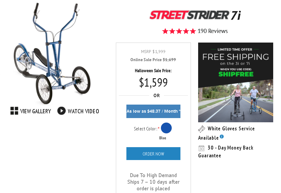 Pricing is definitely important to consider when shopping for an outdoor elliptical bike as they can get really expensive