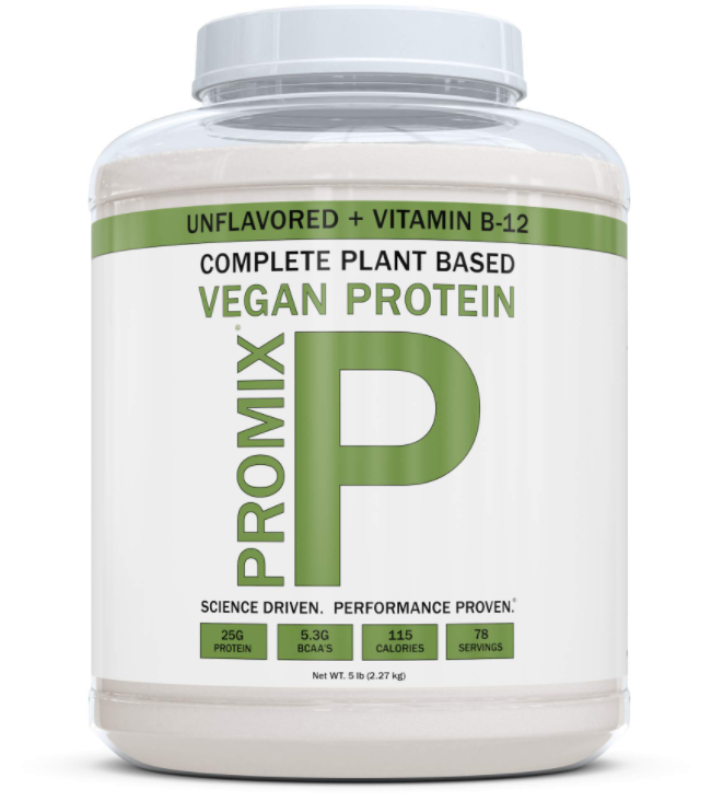 Promix, Unflavoured Vegan Protein Powder is a great option for those who look for protein shakes that don't have whey