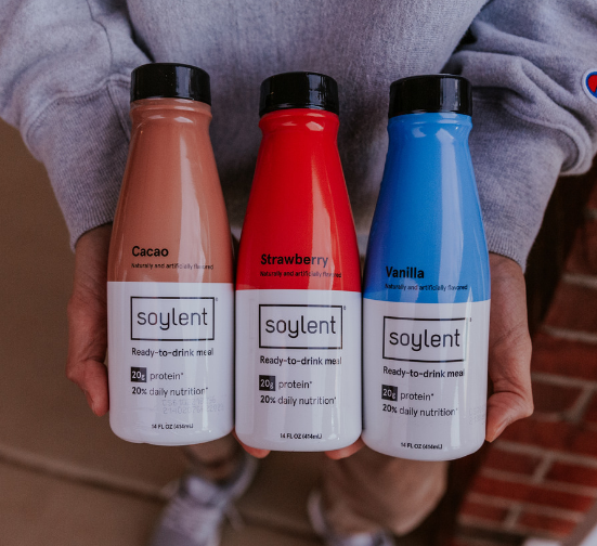 Soylent is a great whey-free protein shake