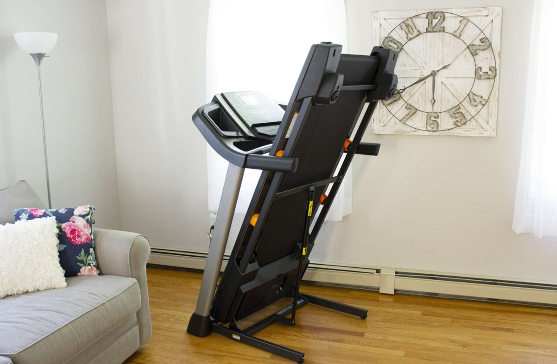 Storage and compatibility are great things to consider when buying a treadmill