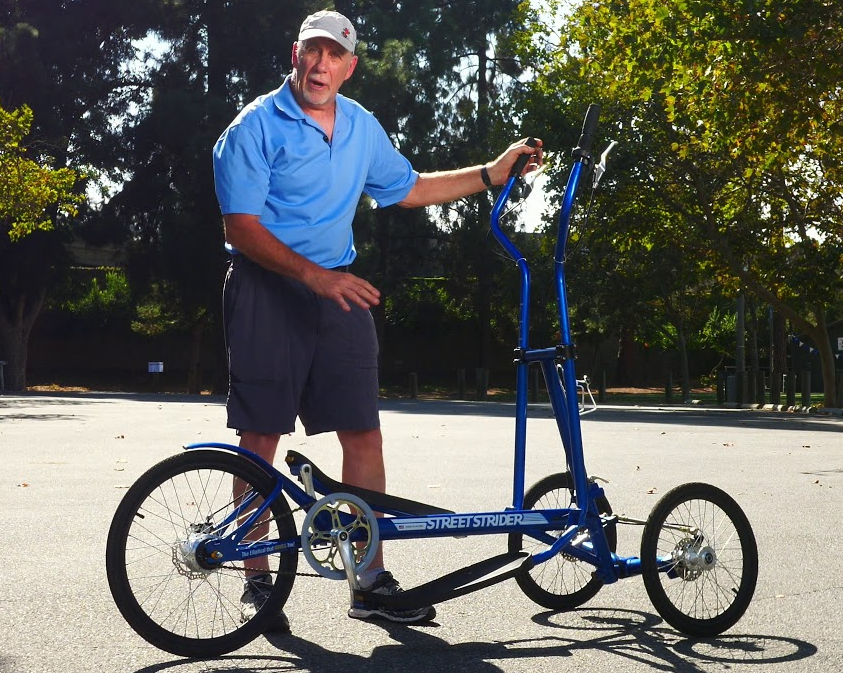 How StreetStrider is different from ElliptiGO when it comes to design