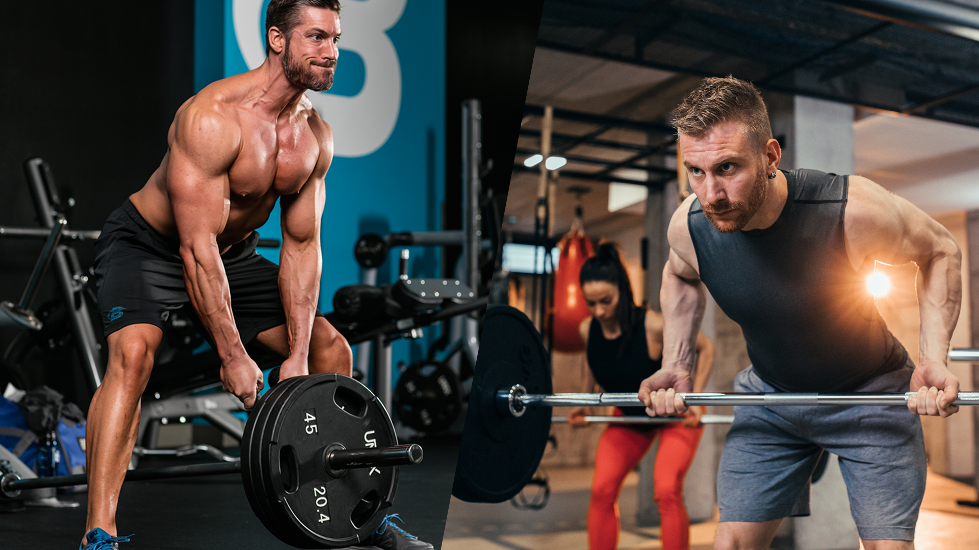 Differences between T Bar row and Barbell Row
