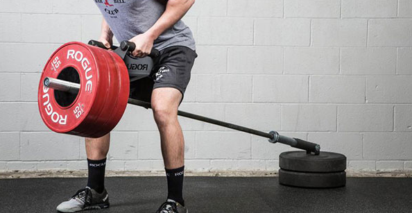 T Bar rows are a form of rows where you pull a barbell loaded with heavy weights from on side up from the ground