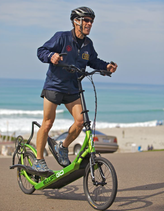 First type of outdoor Elliptical bikes is a Two Wheels bike
