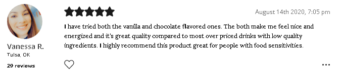 Garden of Life Raw Organic Meal customer review
