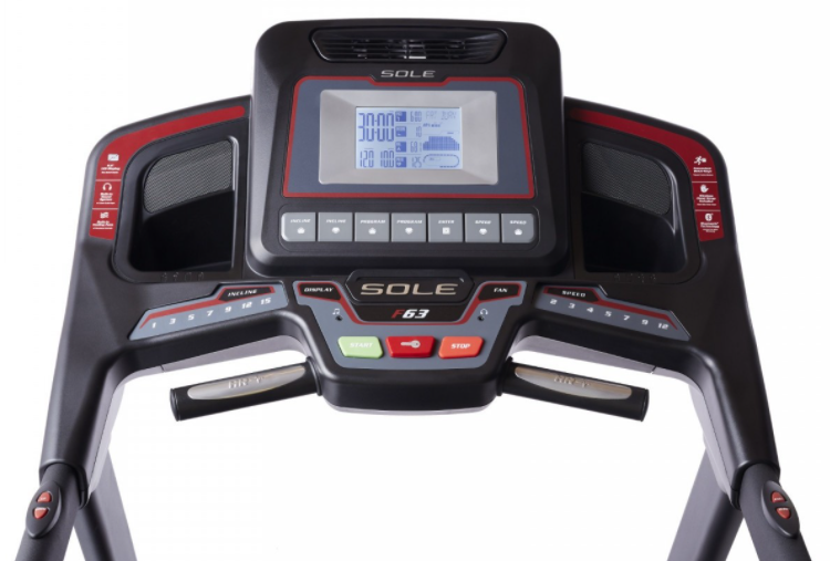 The Sole F63 has a wide range of workout programs