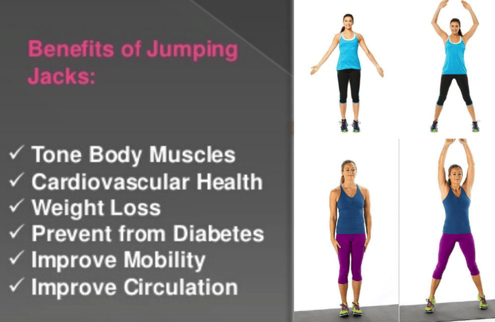 benefits of doing jumping jacks every workout