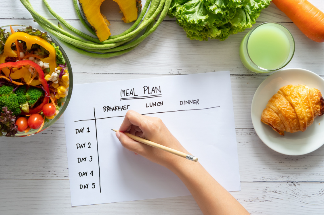 Figuring out what you need in a healthy diet is the first step in the way
