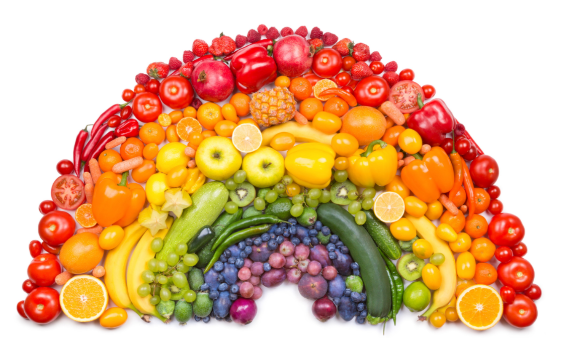 Vegetables and fruits are great Food that Tightens your Skin After Weight Loss