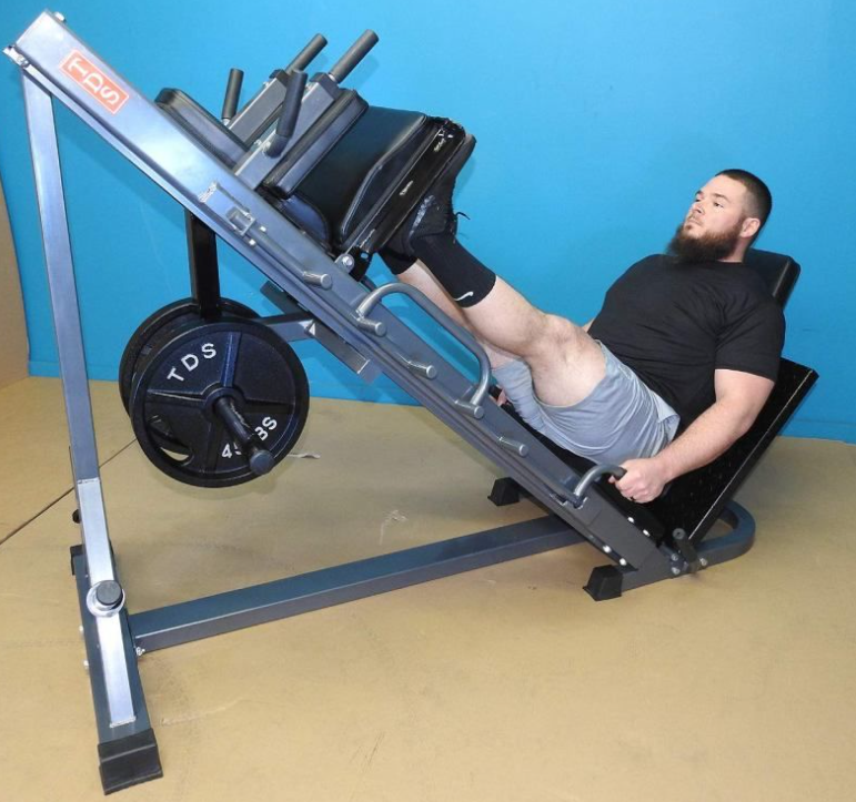The TDS 4-Way Hip Sled is the best bang for buck option when it comes to buying leg press machines