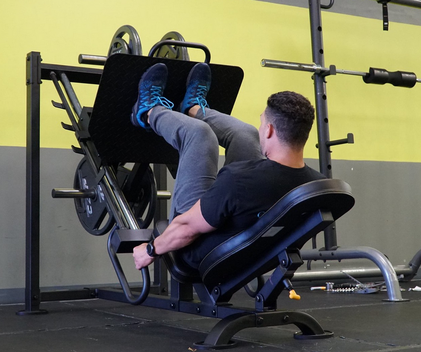The best budget Leg Press Machine option is Powertec Fitness