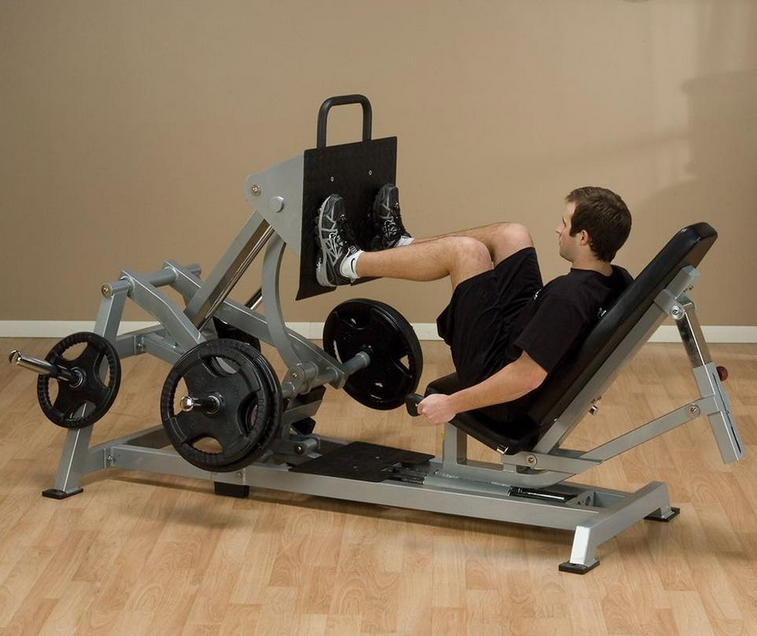 The Body-Solid LVLP is the best horizontal leg press machine