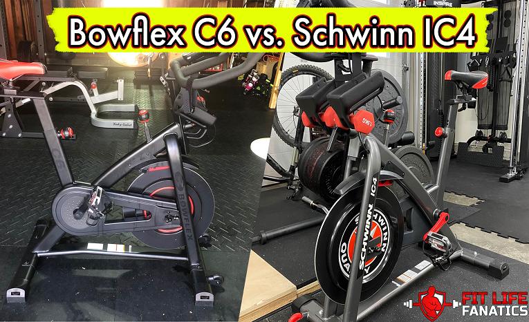 Bowflex C6 vs. Schwinn IC4 – how do they compare