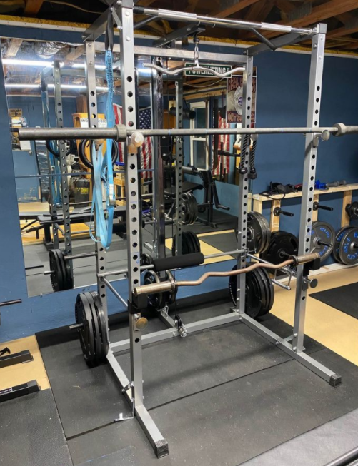The Merax Athletics Fitness Power Rack is a great power rack for those who are on a budget