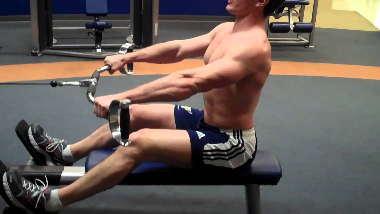 Low rows have many benefits one of them is they Can Be Customized for Different Fitness Levels