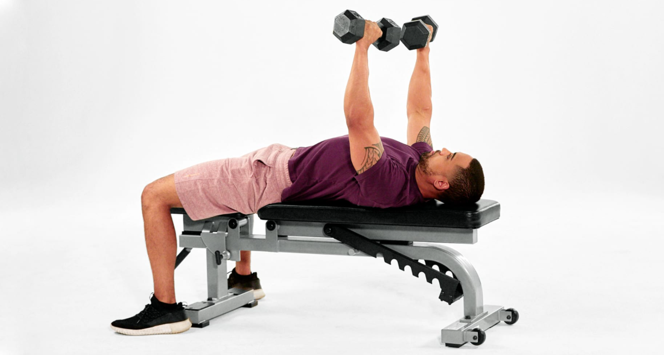 Chest Presses are a great Complimentary exercise to the Australian Pull up exercise