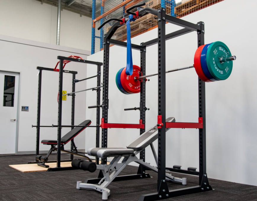 Construction and build quality are essential things to look at when buying a power rack or a squat rack