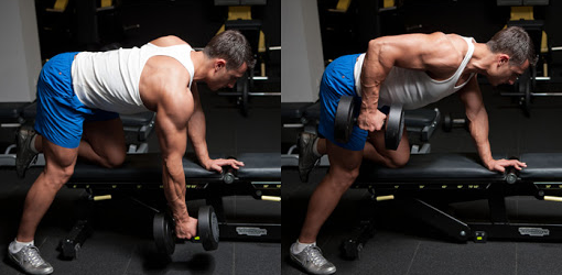 Dumbbell Row is a great alternative for low rows