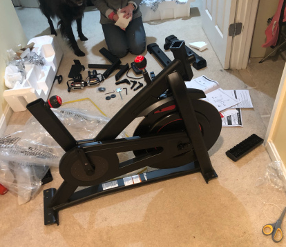Which one is Easer Of Setup, Bowflex C6 or the Peloton