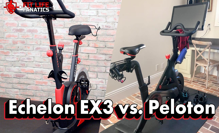 Echelon EX3 vs. Peloton – Which Interactive Training Bike Is Better - featured image