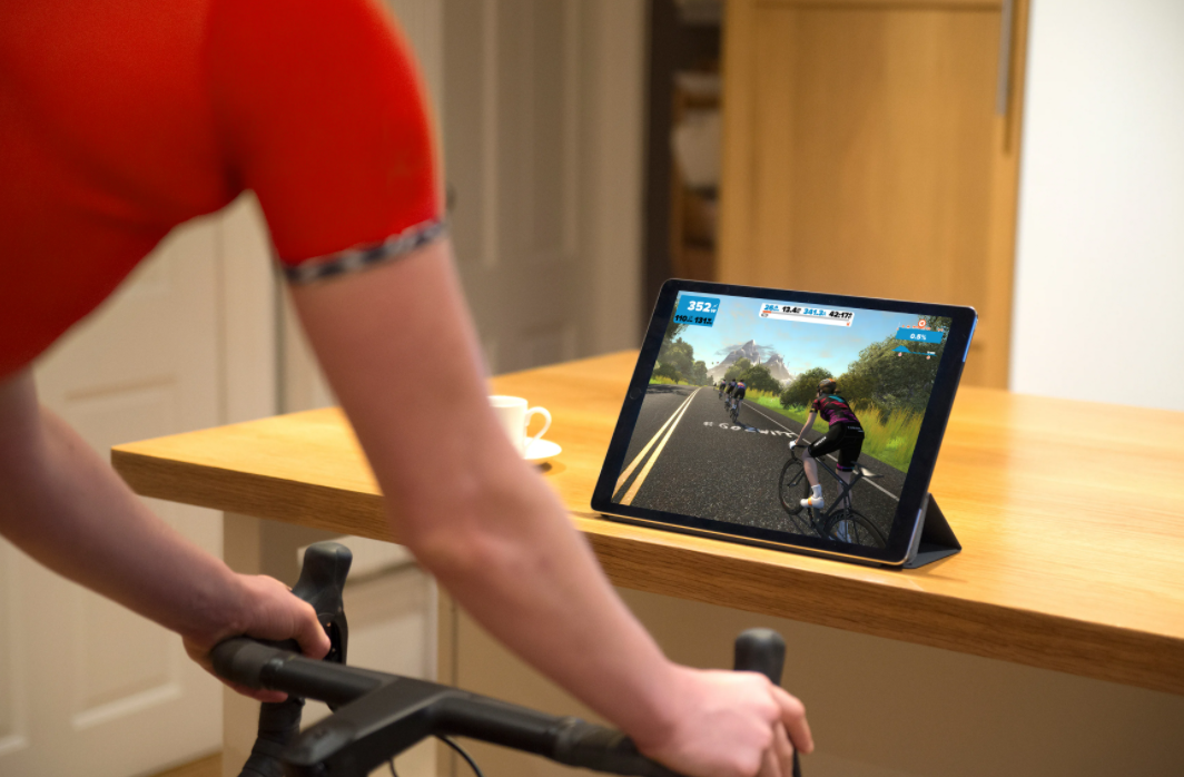 One of the many benefits that Zwift offers is it's great for beginners