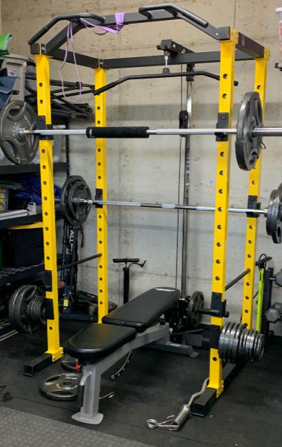 The Hulk Fit is a great bank for buck when it comes to power racks