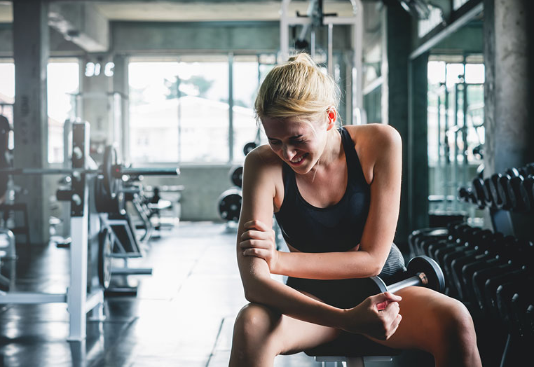 Feeling Constant Soreness is one of the signs you are doing too much cardio