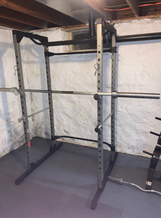 My pick for the best power rack the Fitness Reality 810XLT