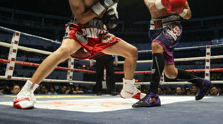 Footwork can be utilized as a defensive mechanism in boxing
