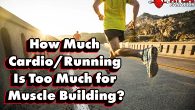How Much Cardio,Running Is Too Much for Muscle Building