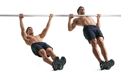 How to Do Australian Pull-Ups, step by step