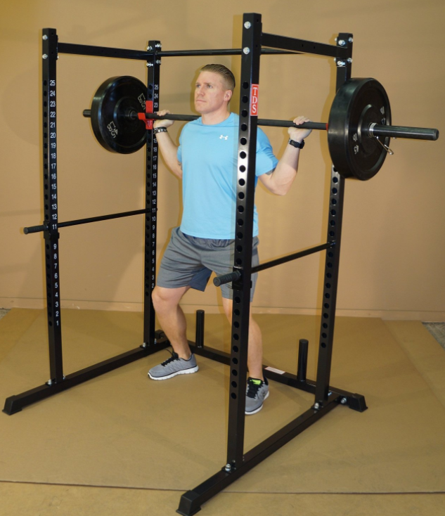 something that you have to keep in mind when shopping for a power rack and a squat rack is the internal dimensions of them as they will impact your workout depending on your height and width