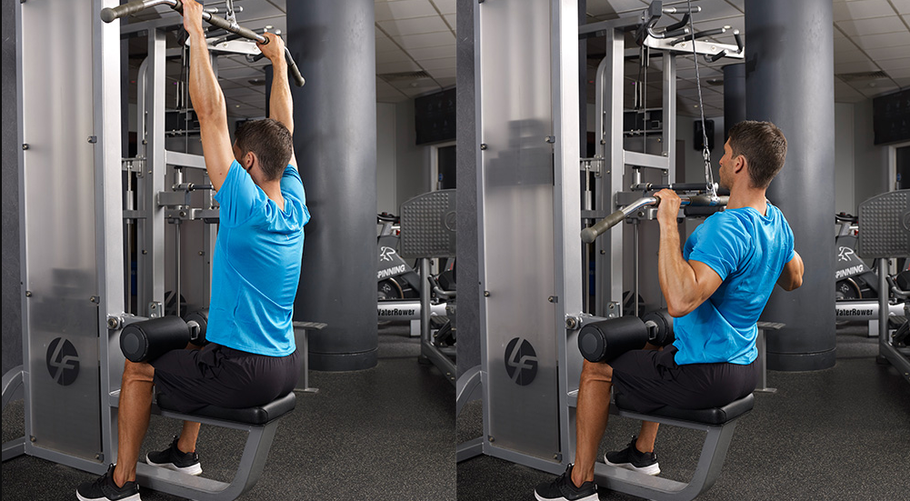 Lat Pull Downs are a great alternative to the Australian Pull up exercise