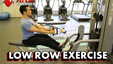 Low Row Exercise, How it Works, How to Do It, how You can do it at Home -- Without Machines!