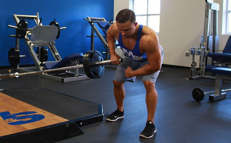 Meadows Row is one of the alternative exercises to low rows