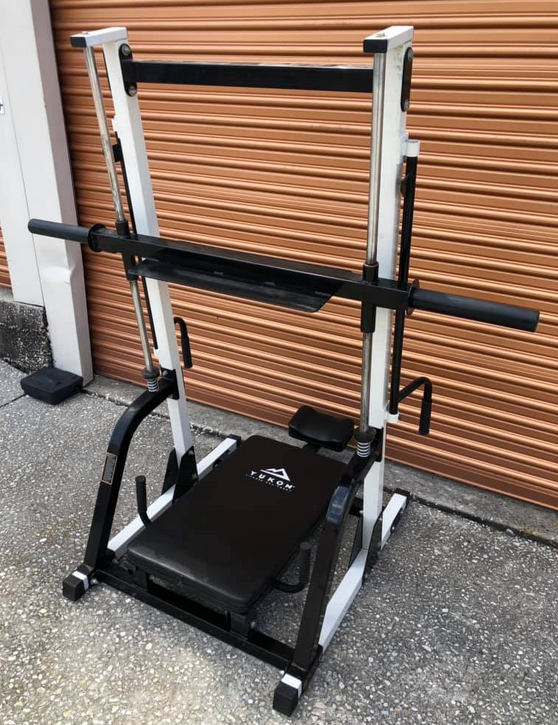 The Yukon Fitness Vertical Leg Press is a great option for people who want to workout their legs