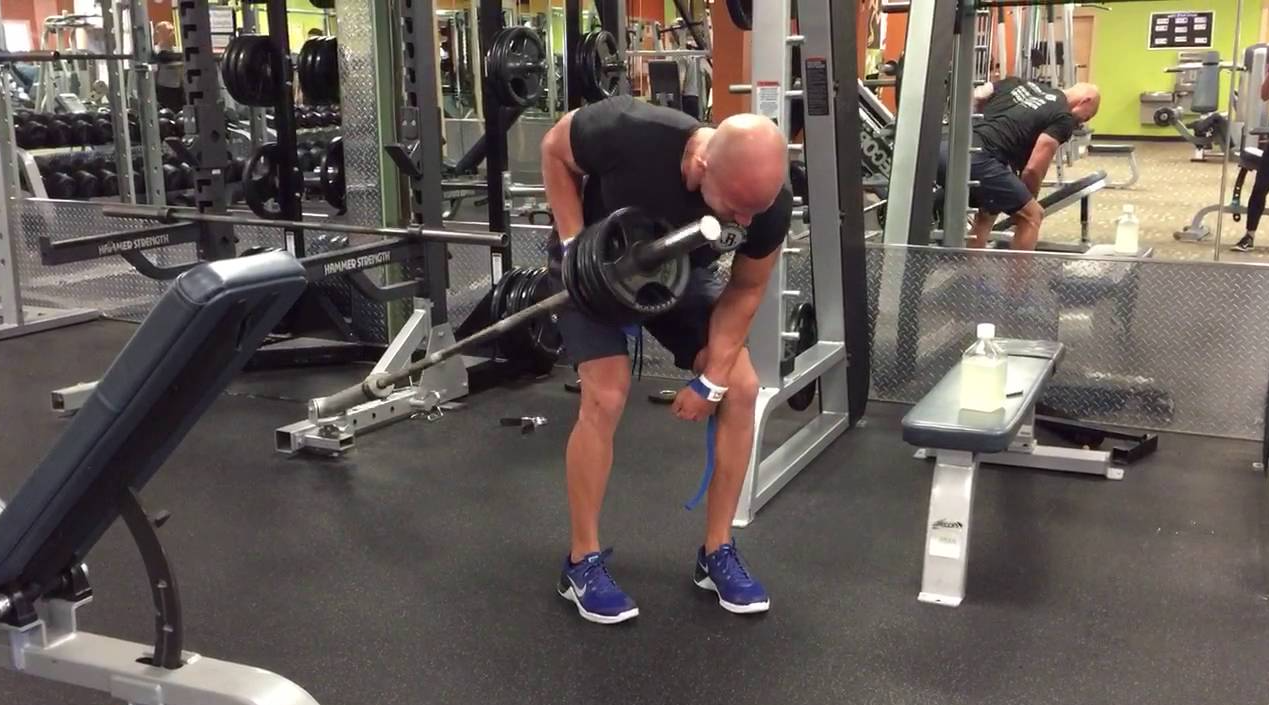 One-Arm Barbell Row is an alternative to low rows