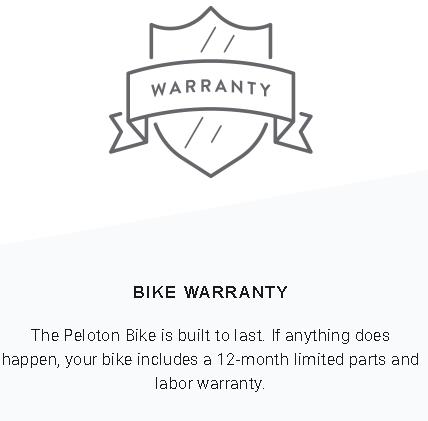 Peloton Warranty