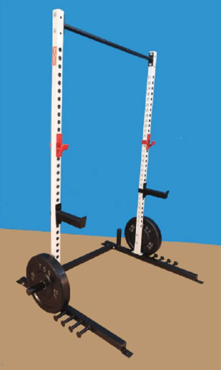 TDS Super Open Rack is great cheap squat rack with all the bells and whistles