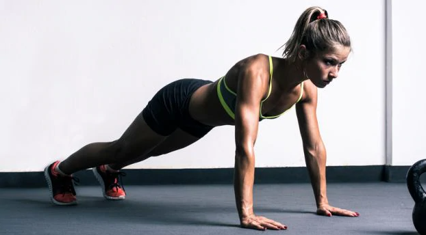 Resisted Push-ups are a great Complimentary exercise to the Australian Pull up exercise
