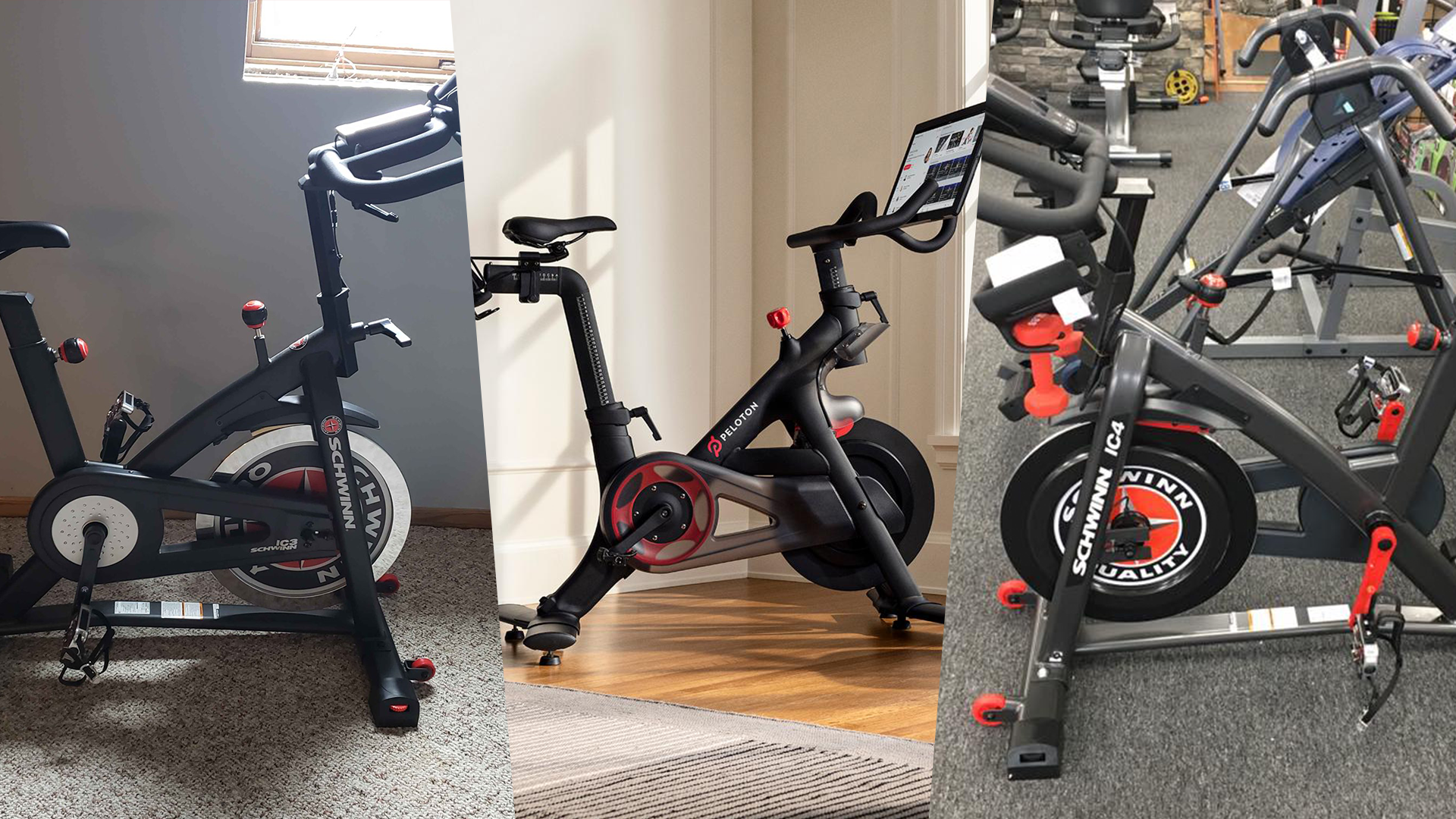Schwinn IC3 & IC4 vs. Peloton detailed comparison
