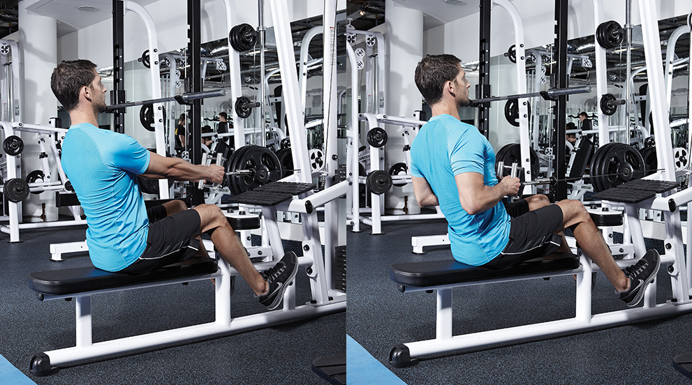 Seated Rows are a great alternative to the Australian Pull up exercise