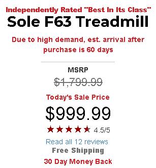 Sole F63 pricing
