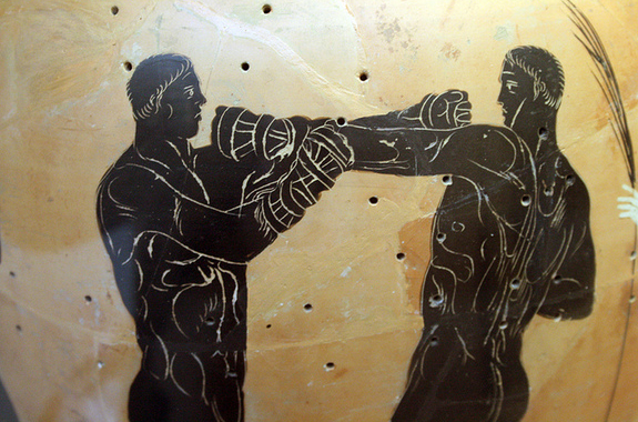 Boxing in the age of the Greeks