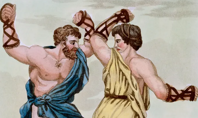 Boxing in the age of the romans