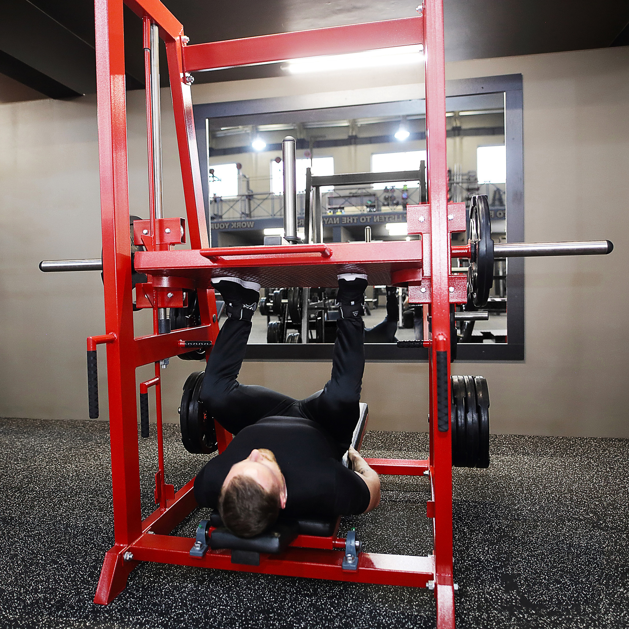 Vertical Leg Press machines are another type of Leg Press machines