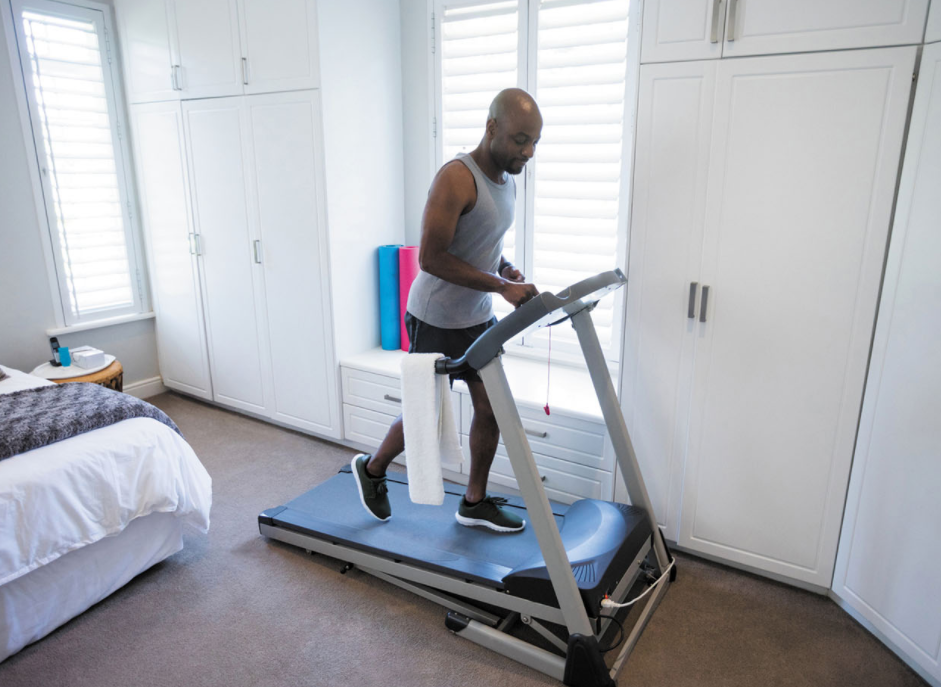 One of the Benefits of a Having a Home Treadmill is You Can Work Out At Your Leisure
