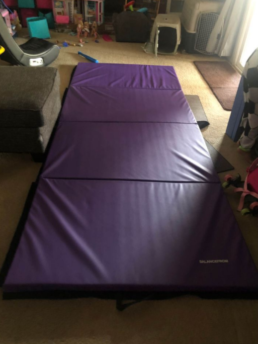 BalanceFrom High Density Folding Mat is our pick for the Best Fold Up Jiu-Jitsu Mat