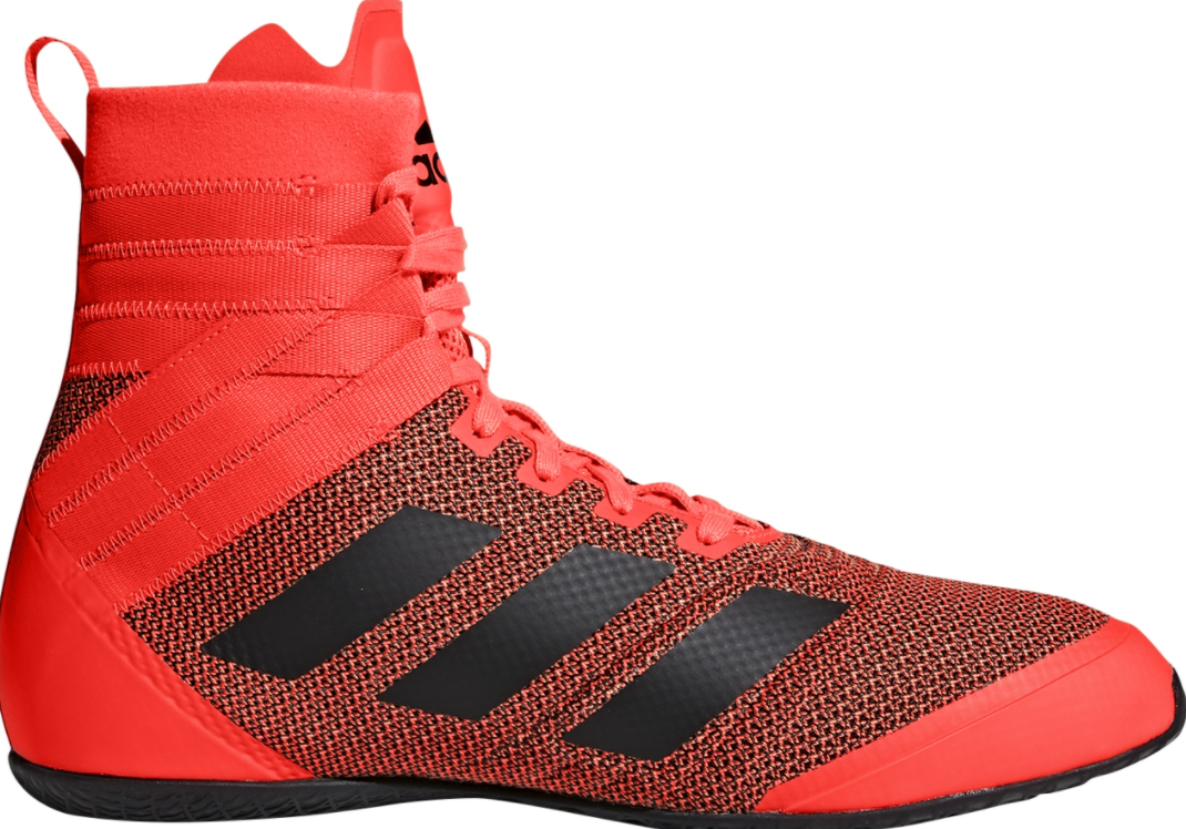 Our top pick for the best boxing shoes for women is the Women's Adidas Boxing Boots Speedex 18