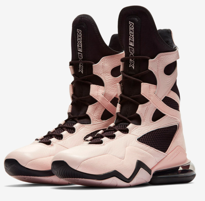 The Nike Women's Air Pink Anthracite Boxing Shoes are a great pick for boxing shoes for women